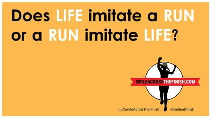 Life imitate run