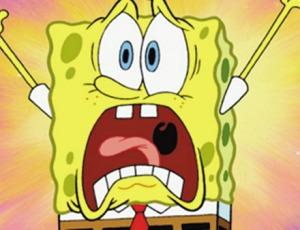 sponge bob panic